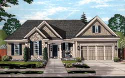 Traditional Style Home Design Plan: 23-507