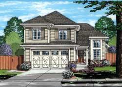 Craftsman Style Home Design Plan: 23-518