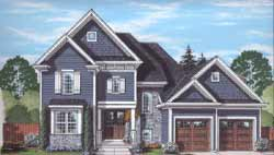 Country Style House Plans Plan: 23-524