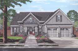 Traditional Style House Plans Plan: 23-525