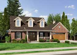 Cape-Cod Style House Plans Plan: 23-555