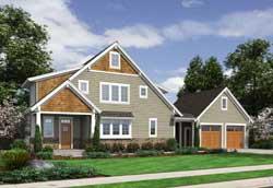 Coastal Style Home Design Plan: 23-556