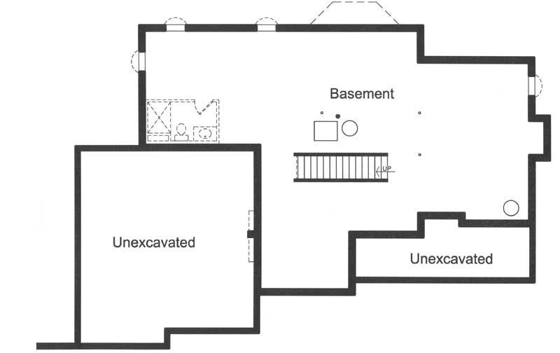 Lower Floor Plan: 23-565
