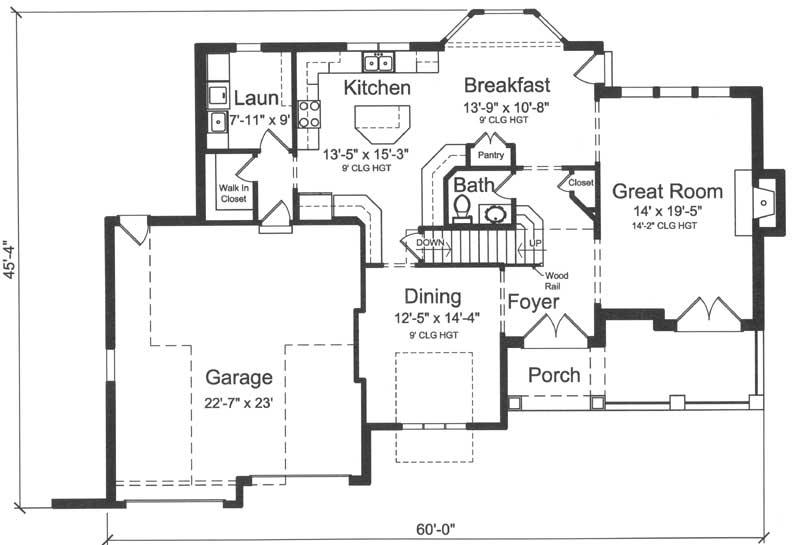 Main Floor Plan: 23-565