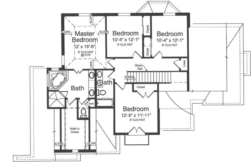 Upper/Second Floor Plan: 23-565