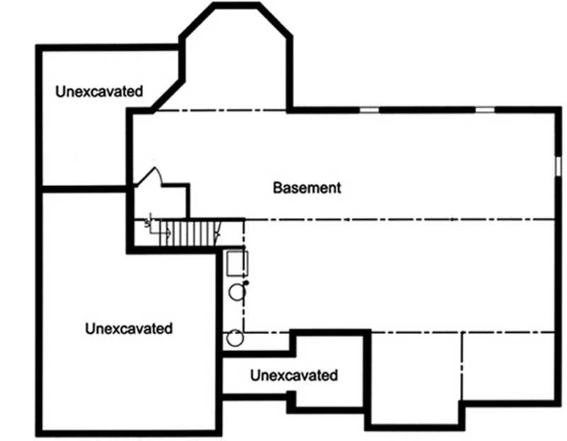 Lower Floor Plan: 23-572