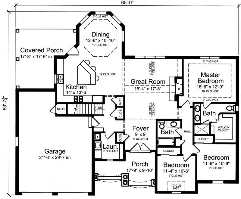 Main Floor Plan: 23-572