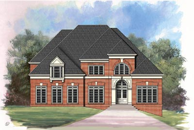 Traditional Style Home Design Plan: 24-109
