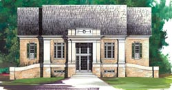Southern-Colonial Style House Plans Plan: 24-115