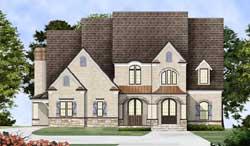 European Style House Plans Plan: 24-116
