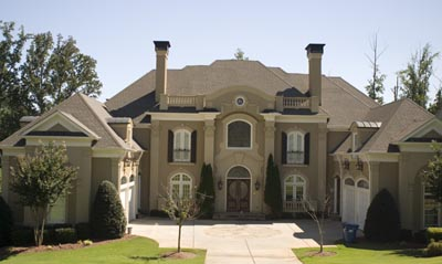 French-country Style Home Design Plan: 24-122