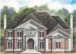 European Style House Plans Plan: 24-127
