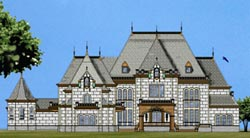 European Style Floor Plans Plan: 24-129