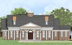 Southern Style Floor Plans Plan: 24-131