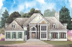 Traditional Style Home Design Plan: 24-133