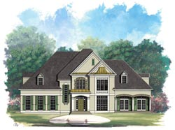Traditional Style House Plans Plan: 24-134