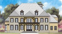 European Style House Plans Plan: 24-137