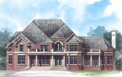 Traditional Style Floor Plans Plan: 24-144