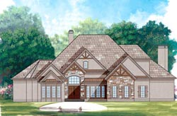 Traditional Style Floor Plans Plan: 24-145