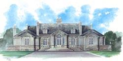 European Style House Plans Plan: 24-147