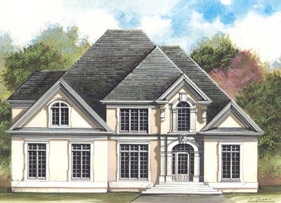 Traditional Style Floor Plans Plan: 24-149