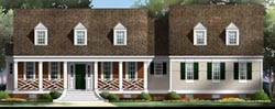 Country Style Home Design Plan: 24-150