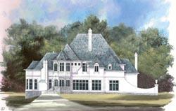 European Style House Plans Plan: 24-152