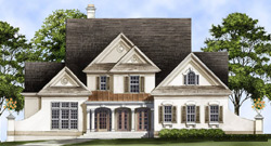 Traditional Style Home Design Plan: 24-153