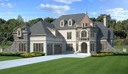 European Style Floor Plans Plan: 24-155