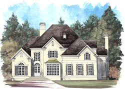 Traditional Style House Plans Plan: 24-157