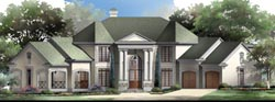 European Style Floor Plans Plan: 24-158