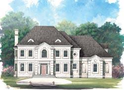 European Style House Plans Plan: 24-159