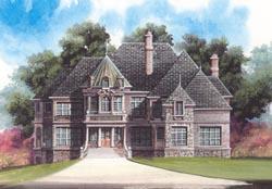 European Style House Plans Plan: 24-161