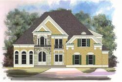 European Style House Plans Plan: 24-165