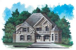European Style Floor Plans Plan: 24-166