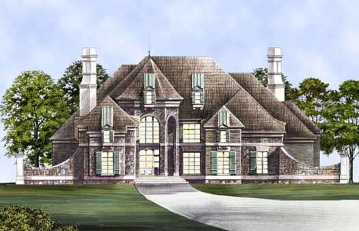 European Style Floor Plans Plan: 24-175