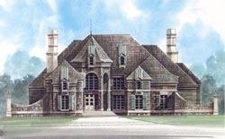 European Style Floor Plans 24-175