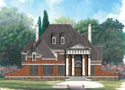 Southern Style Floor Plans Plan: 24-177