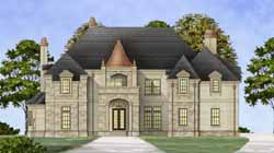 European Style House Plans 24-183