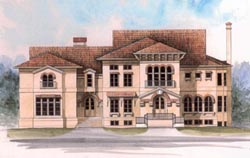 European Style House Plans Plan: 24-184