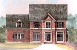 Traditional Style House Plans Plan: 24-192