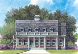 Southern Style Floor Plans Plan: 24-196