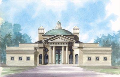 Greek-revival House Plan - 3 Bedrooms, 3 Bath, 3489 Sq Ft ...