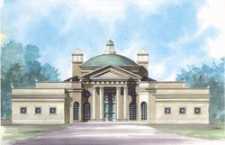 Greek-Revival Style House Plans Plan: 24-202