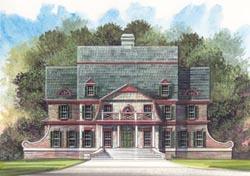 European Style House Plans Plan: 24-206