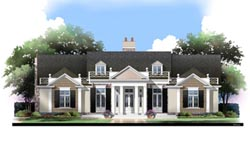 Southern Style House Plans Plan: 24-207
