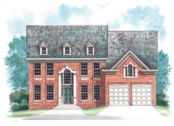Colonial Style House Plans Plan: 24-209