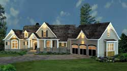 Traditional Style Home Design Plan: 24-220