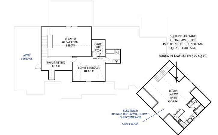 Upper/Second Floor Plan: 24-220