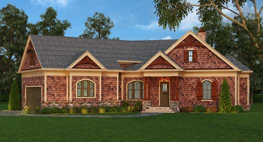 Craftsman Style House Plans Plan: 24-221
